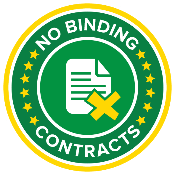 No Binding Contracts Icon